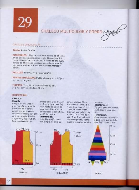 chaleco - Chaleco niña de 6 años, pero es talla 10-12... o 2s9ahis