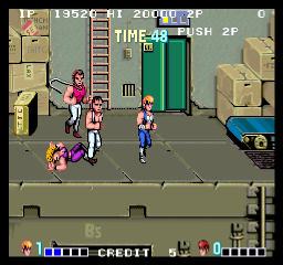 [Fliperama] Double Dragon 2v1sv4p