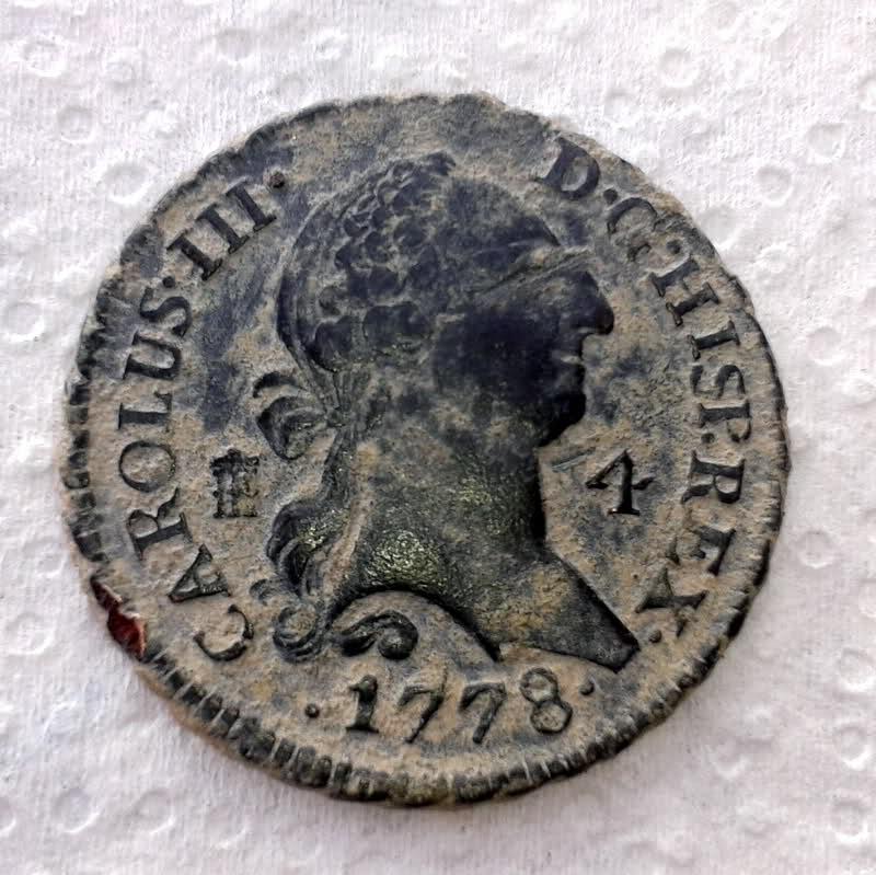 4 Maravedís de Carlos III (Segovia, 1778) [WM nº 9122] 300uuqv