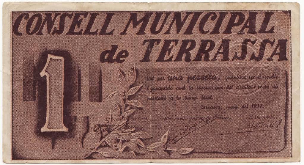 1 peseta de Terrassa 1937. 30waz4h