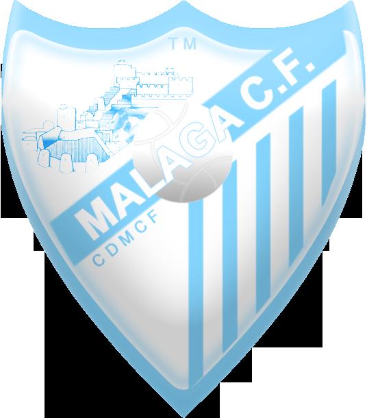 8 diseños del escudo del Malaga, formato PNG, 536px por 610px 344p9h1