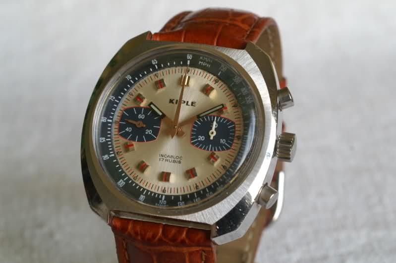 Kiplé montres vintage françaises dans l'ombre des Lip et Yema 34gahcg