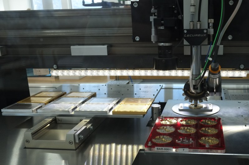 Compte rendu de la visite de la manufacture Zénith  34h6ihw
