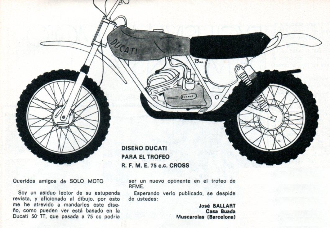 Ducati 75 Cross Trofeo RFME 1975 34oobr9