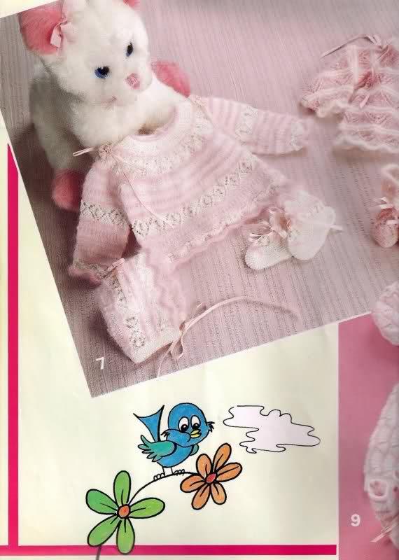 Chambritas para bebés (patrones para Cony) 34t3g3o