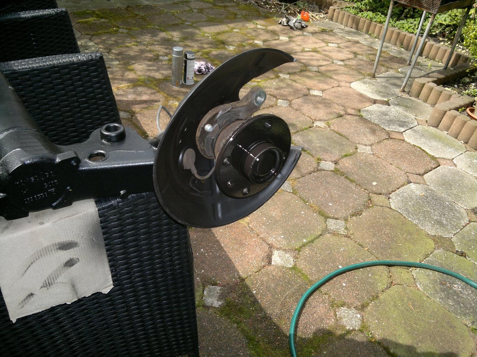 Tutorial conversie la punte spate cu discuri Corsa C 350szr4