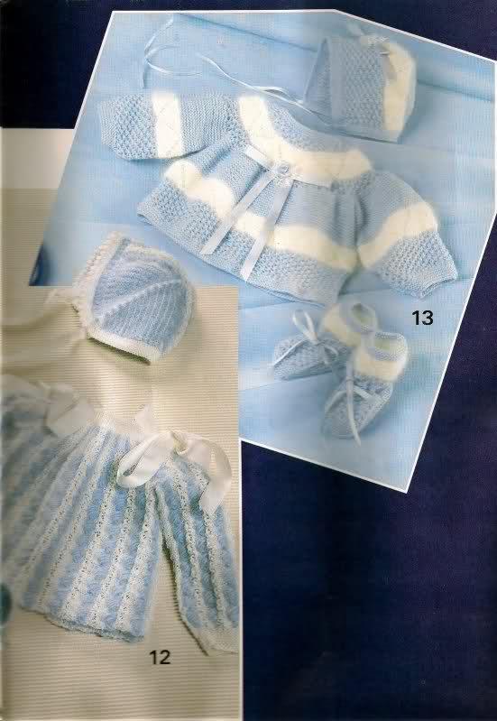 Chambritas para bebés (patrones para Cony) 359jllw