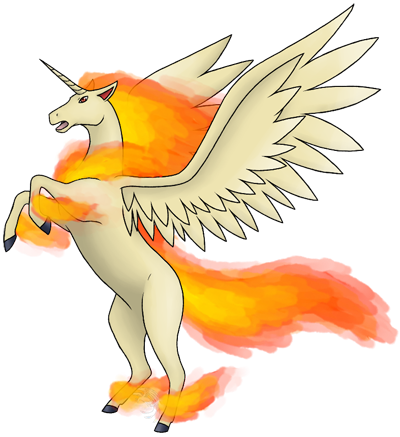 Infernium, the RAPIDASH Evolution 35alp4z