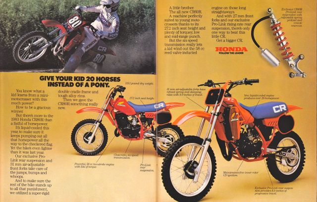 Motos TT y Cross de 80 cc 5lxybo