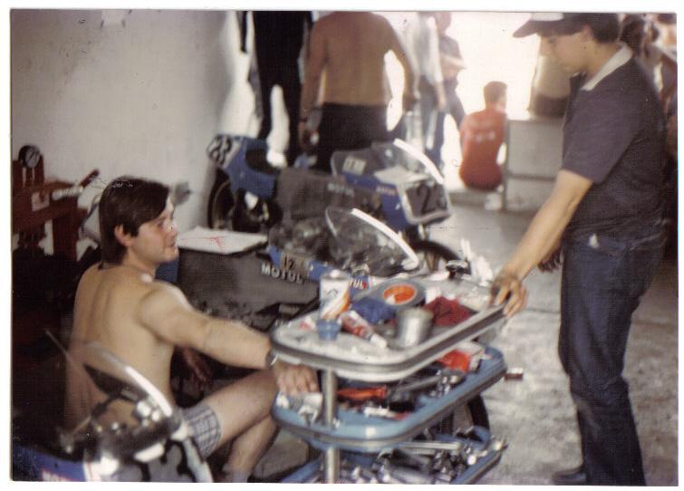 Réplica Bultaco 50 MOTUL Carmona 1982 5n5hdg