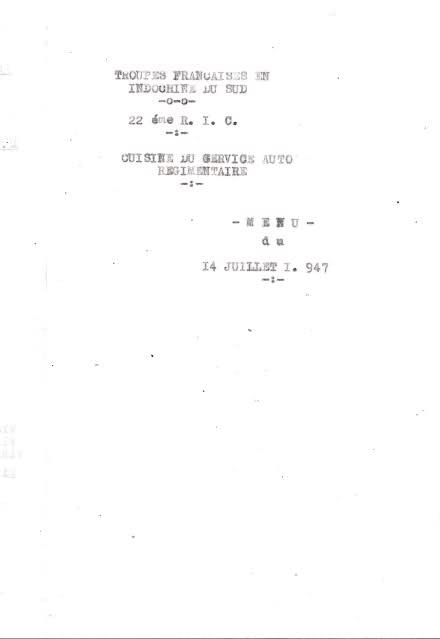 Le 22ème Régiment d'Infanterie Coloniale 6qfe6x