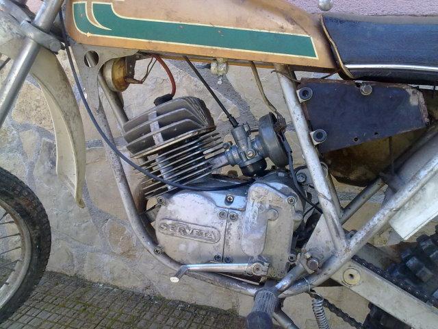jueves Llanura calina  Mi Lambretta Serveta Puma Cross