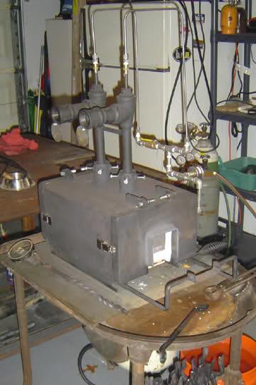 Fragua casera a Gas--Gas Forge 9sbfh0