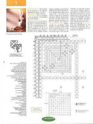 CROCHET - Varios patrones para realizar UN MANTEL a crochet B7kto6