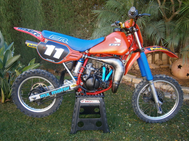 Motos TT y Cross de 80 cc Ct9p0