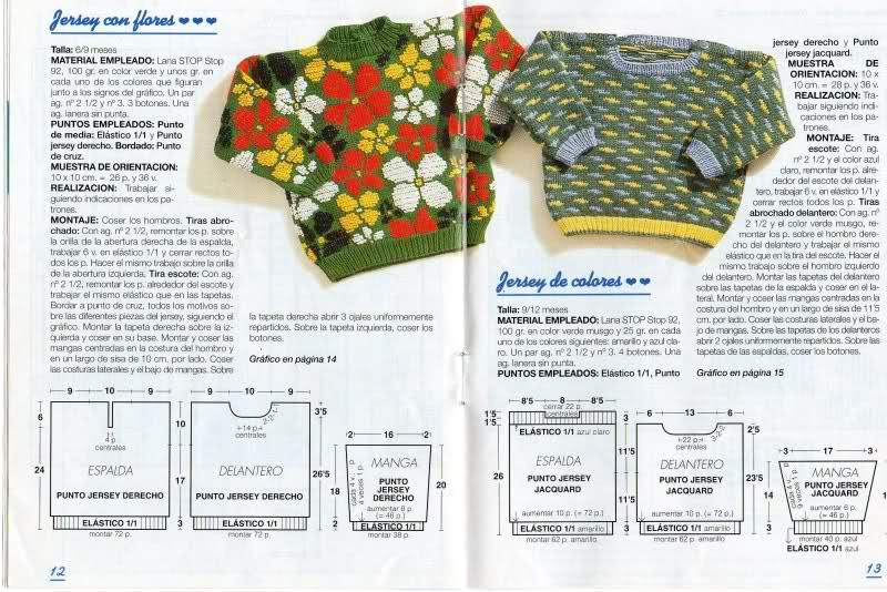 patrones - Patrones de Jerseys para bebés (6 meses) solicitado por Matilde Dpv18l