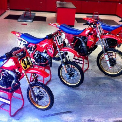 Motos TT y Cross de 80 cc F4mudg
