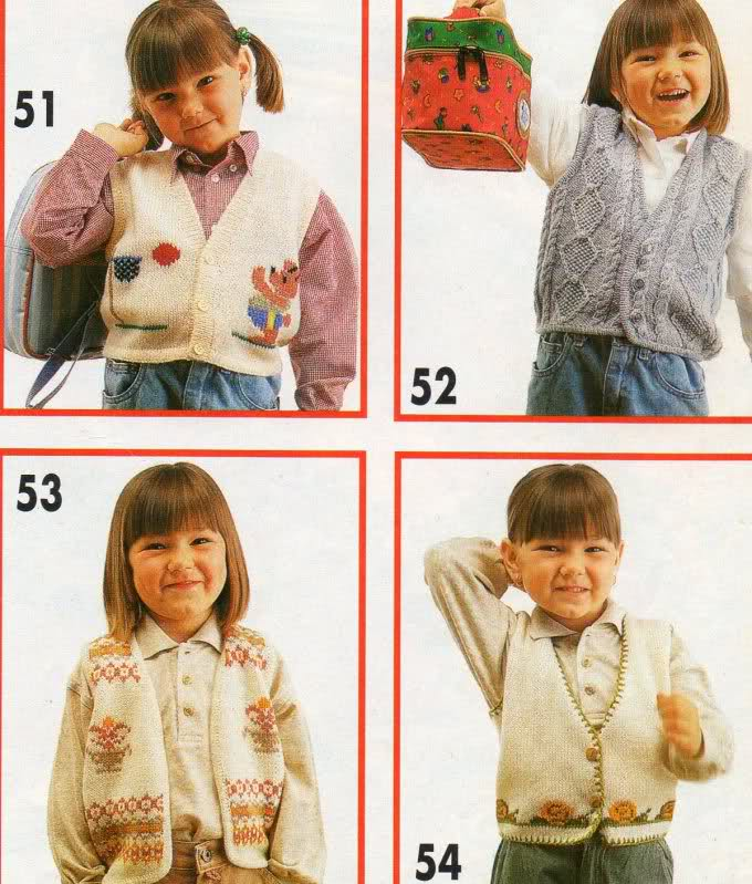 años - Chaleco niña de 6 años, pero es talla 10-12... o Fo389k
