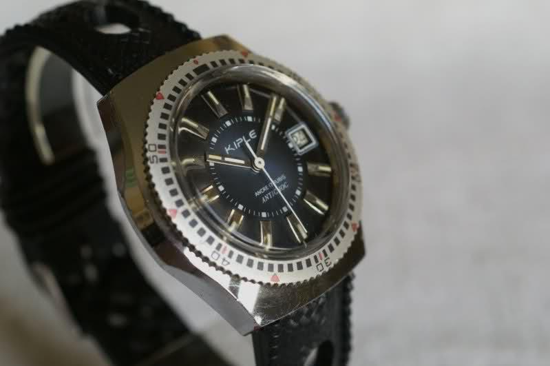 Kiplé montres vintage françaises dans l'ombre des Lip et Yema J65tzl