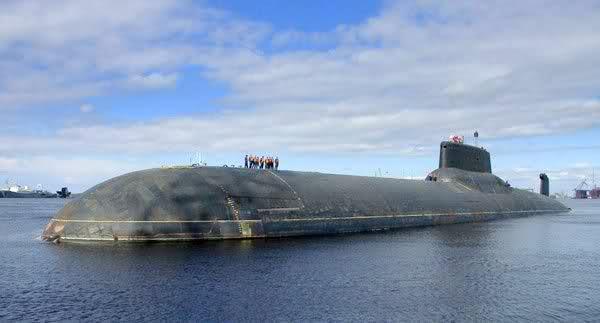 Les sous-marins Typhoon Nphwyp