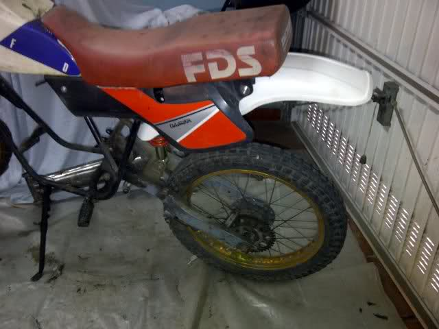 Proyecto Derbi de Cross 80 c.c. So9zch
