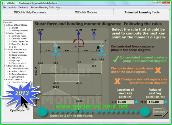 اصدار جديد MDSolids4.1.0(تعليمي) Sqhw8m