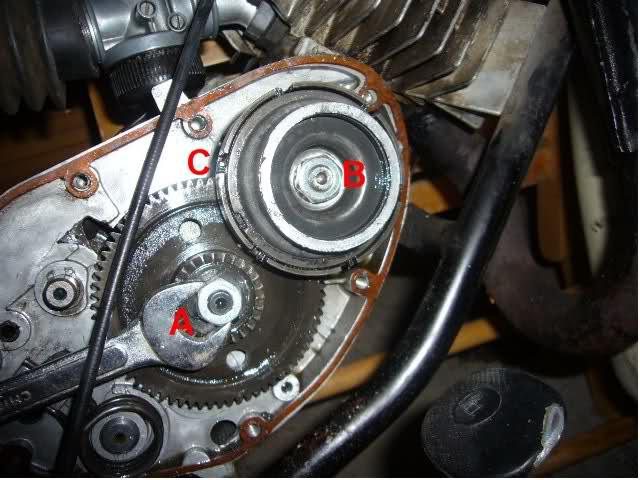 Minicross Super - cambiar discos de embrague Venqki