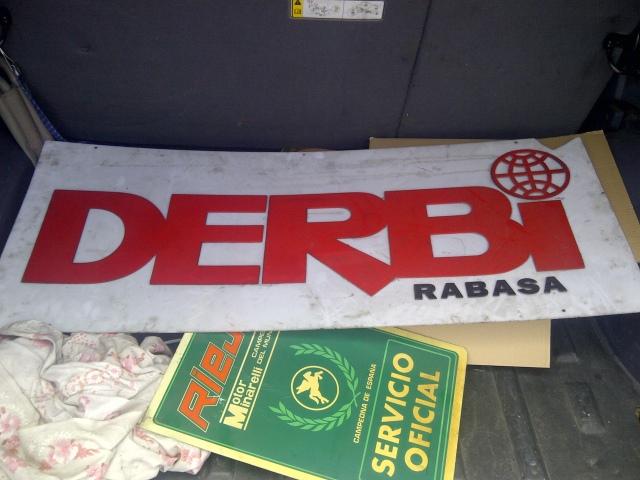Carteles Derbi y Rieju, un bonito regalo Wbdjyc