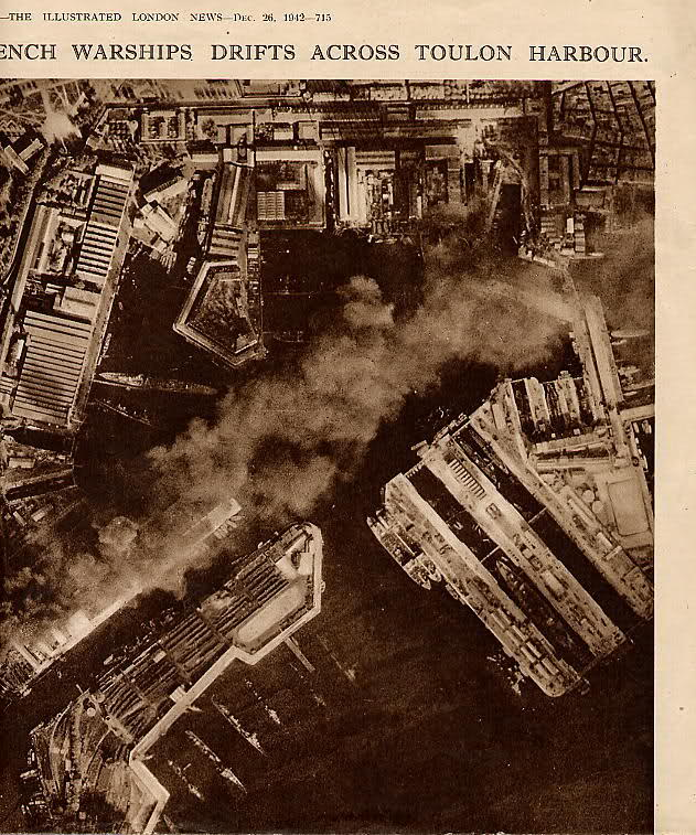 Le sabordage de la Flotte à Toulon (83) 27/11/1942 10cj3vc