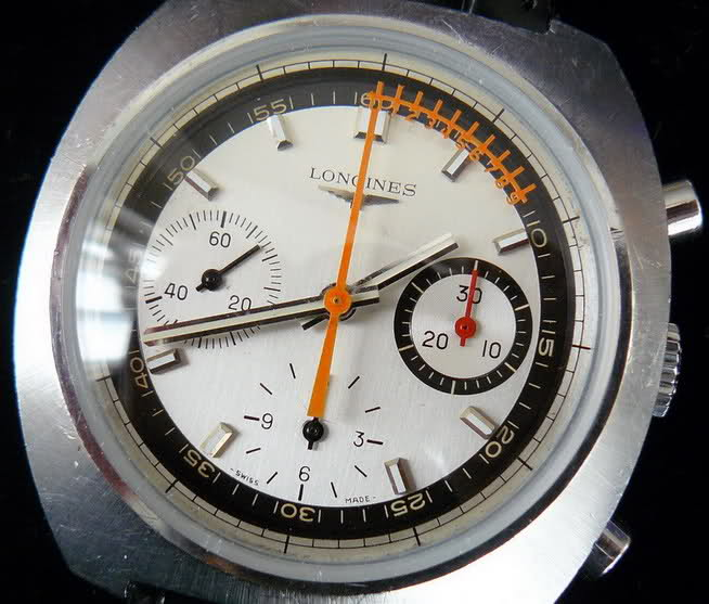 vernier - Chronographe Longines 30 CH Vernier...pressé s'abstenir 7wzeo75