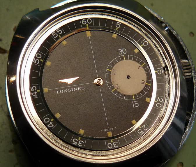 vernier - Chronographe Longines 30 CH Vernier...pressé s'abstenir 82wk9xt