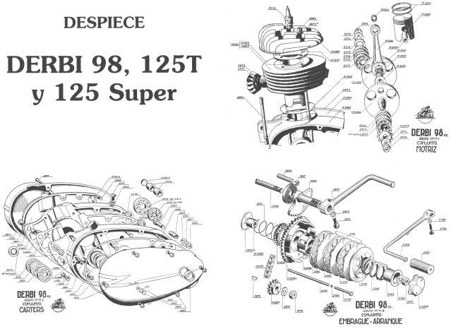 Derbi Cross 125 - 1959 * Rafbultaco 10cvgva