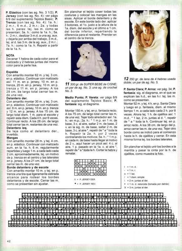 cobijas - Patrones /TOQUILLAS PARA BEBES o COBIJAS = para Azulreal. 10xu2h0