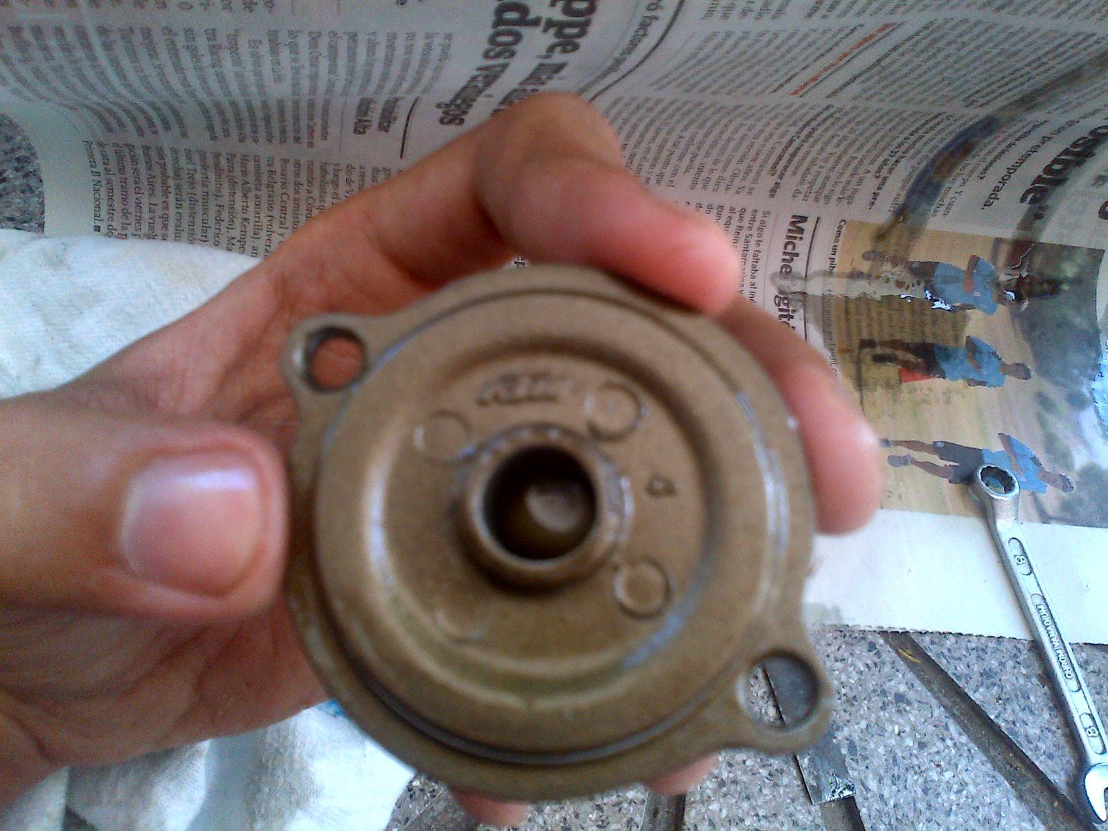 Primer cambio de aceite y filtro 11htesp