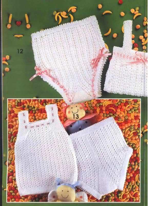 Camisetitas y bombachos para bebés para el verano (lomargo) 11sgfhw
