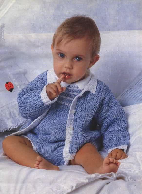 chaquetitas bebe - Patrones para realizar chaquetitas de bebés (Matilde) 123s7jq