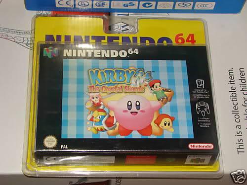 Topic des jeux nintendo 64 sous blister rigide 16lgspd