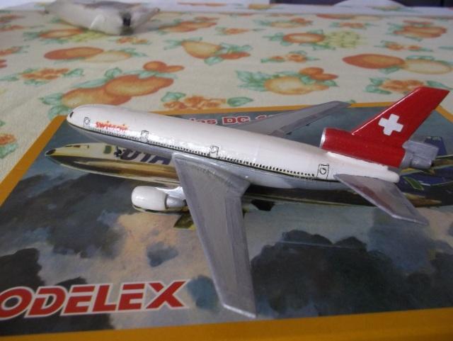 Douglas DC-10 SWISSAIR=modelex/Heller 1/450 Ref.049 (TERMINADO) 1g65o5