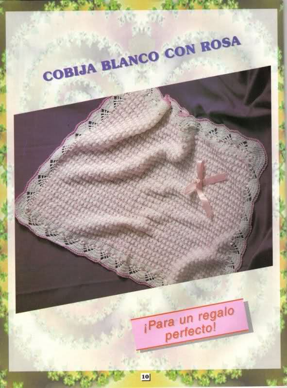 cobijas - Patrones /TOQUILLAS PARA BEBES o COBIJAS = para Azulreal. 20k6l35