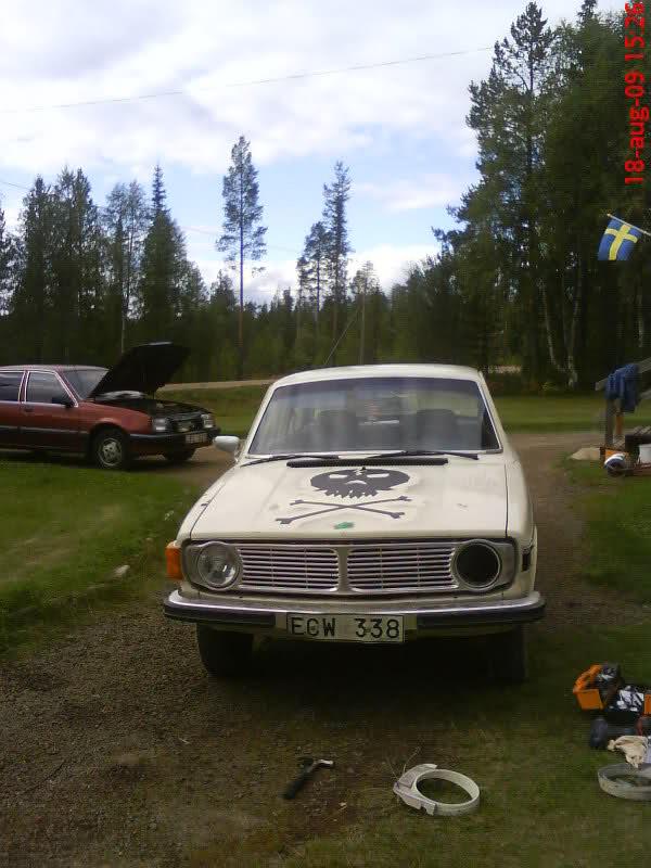 Jaxy -  Volvo 140 - B20 förgasarturbo (sommar uppdate) 21bukap