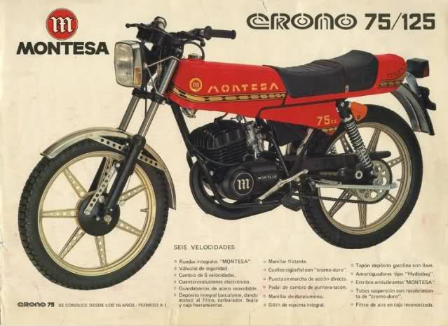 crono - Montesa Crono 75 25gw220