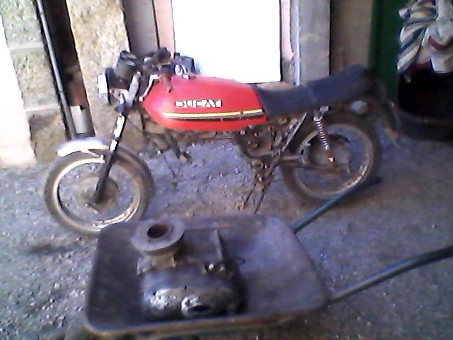 Ducati Strada 250 1979 29lfv2v