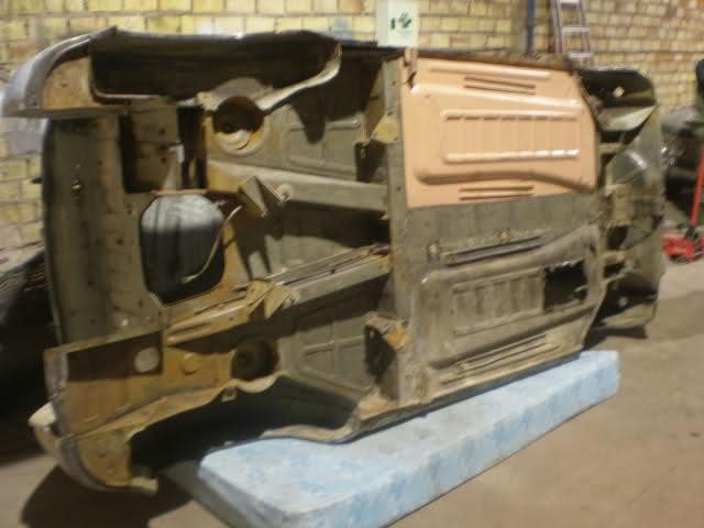 Restauración Seat 600 E 1ª serie. 2a8m900
