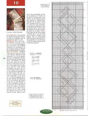 CROCHET - Varios patrones para realizar UN MANTEL a crochet 2bv79z