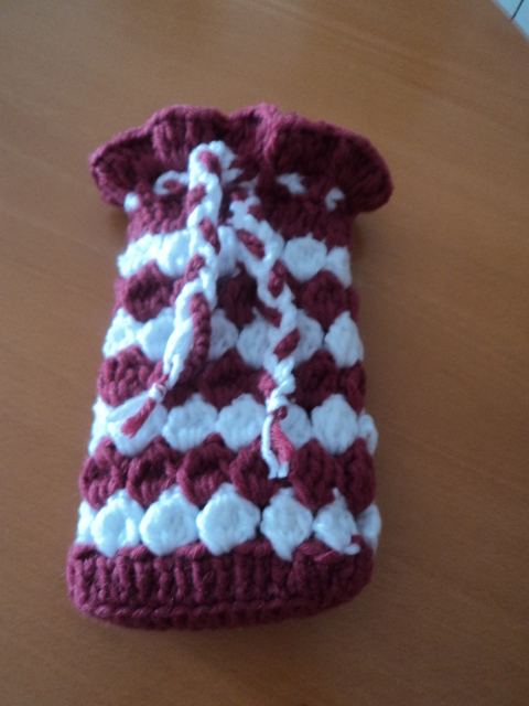 CROCHET - Pequeña bolsita tejida a crochet para guardar nuestros ganchitos 2ikdwlj