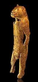 El Hombre León de la cueva Stadel en Hohlenstein 2l888kw