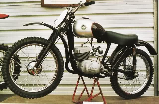 Derbi Cross 125 - 1959 * Rafbultaco 2mwxrtl