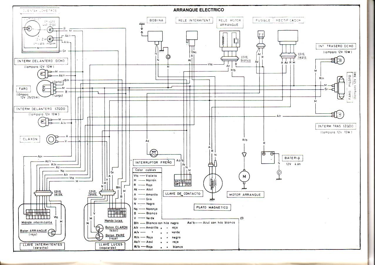 Puch Maxi Electric - Esquema Eléctrico 2u6o6u1
