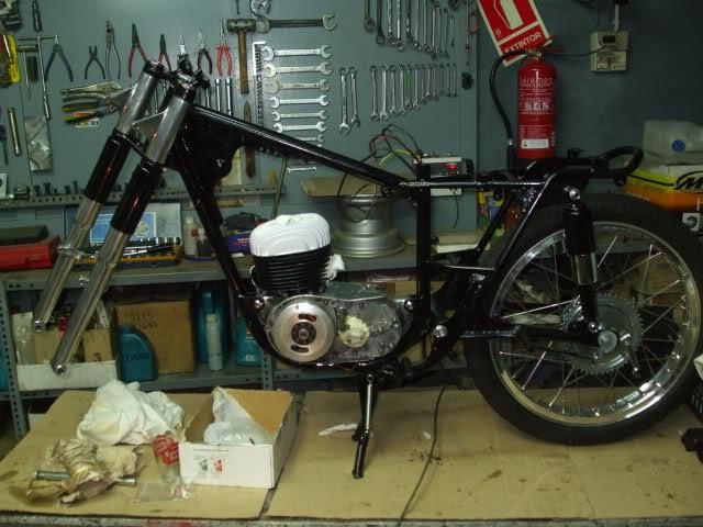 Restauración Bultaco Tralla 101 3176qrl