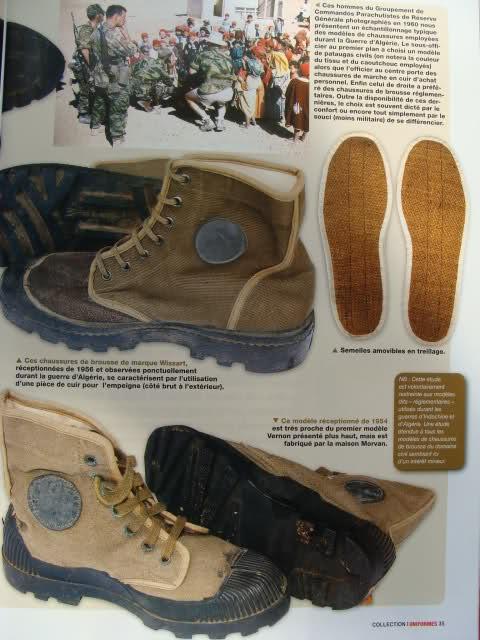 Chaussures de brousse françaises 35jwjt4